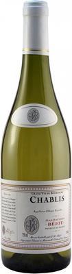 Вино белое сухое «Bejot Chablis» 2013 г.