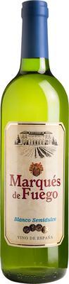 Вино белое полусладкое «Marques de Fuego»