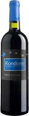 Вино красное сухое «Rondone Nero d'Avola» 2014 г.