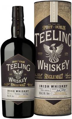 Виски ирландский «Teeling Single Malt Irish Whiskey» в тубе