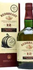 Виски ирландский  «Redbreast Cask Strength 12 YO» в подарочной ураковке
