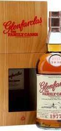Виски шотландский «Glenfarclas 1977 Family Casks» в подарочной коробке