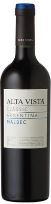 Вино красное сухое «Alta Vista Classic Malbec» 2014 г.