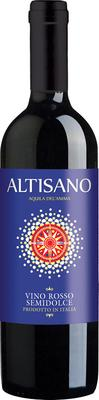 Вино красное полусладкое «Altisano»