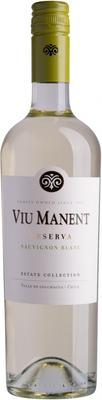 Вино белое сухое «Viu Manent Estate Collection Reserva Sauvignon Blanc» 2015 г.