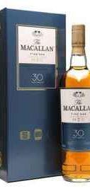 Виски шотландский «Macallan Fine Oak 30 Years Old» в подарочной упаковке