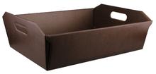 Коробка «CESTO Pelle Marrone» 400x300х120
