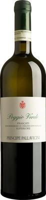 Вино белое сухое «Poggio Verde Frascati Superiore» 2014 г.