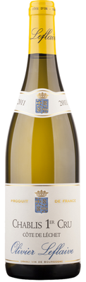 Вино белое сухое «Chablis 1-er Cru Cote de Lechet» 2014 г.