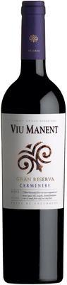 Вино красное сухое «Viu Manent Gran Reserva Carmenere» 2013 г.