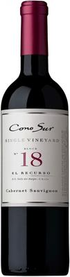 Вино красное полусухое «Cono Sur Single Vineyard Cabernet Sauvignon» 2011 г.