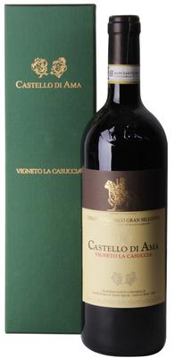 Вино красное сухое «Castello di Ama Chianti Classico Vigneto La Casuccia, 0.75 л» 2007 г. в подарочной упаковке