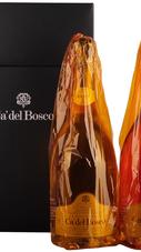Набор из 2х бутылок Игристого вина «Franciacorta Cuvee Prestige» в подарочной коробке