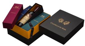 Набор Вино красное сухое «Castello di Ama» в подарочной упаковке