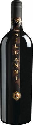 Вино красное сухое «Millanni» 2007 г.