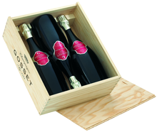 Набор Шампанское белое брют 3бут «Gosset Brut Grande Reserve» в подарочной коробке