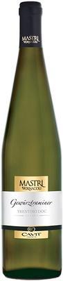 Вино белое сухое «Mastri Vernacoli Gewurztraminer» 2014 г.