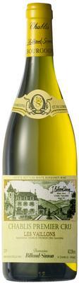 Вино белое сухое «Chablis Premier Cru Les Vaillons» 2014 г.
