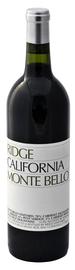 Вино красное сухое «Monte Bello» 1994 г.