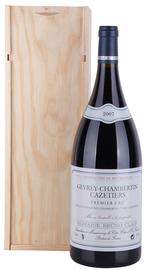 """Вино красное сухое «Gevrey-Chambertin Premier Cru """"Cazetiers» 2006 г. в подарочной упаковке"""