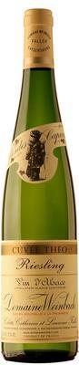Вино белое полусухое «Riesling Cuvee Theo, 0.75 л» 2014 г.