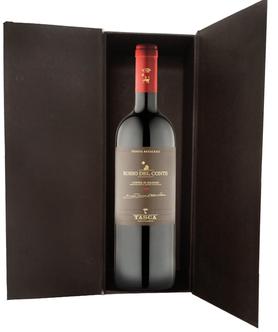 Вино красное сухое «Rosso del Conte» 2010 г. в подарочной упаковке