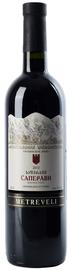 Вино красное сухое «Metreveli Saperavi» 2015 г.