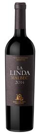 Вино красное сухое «Malbec Finca La Linda» 2014 г.