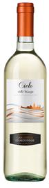 Вино белое полусухое  «Cielo e Terra Garganega & Chardonnay» 2015 г.