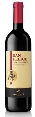 Вино красное сухое «San Felice Chianti Classico, 0.375 л» 2013 г.