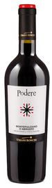 Вино красное полусухое  «Podere Montepulciano d'Abruzzo» 2014 г.