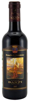 Вино красное сухое «Castello Banfi Brunello di Montalcino, 0.375 л» 2011 г.