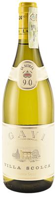 Вино белое сухое «La Scolca Gavi Villa Scolca, 0.375 л» 2015 г.