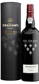 Портвейн «Graham's Six Grapes Reserve Port» в подарочной упаковке
