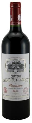 Вино красное сухое «Chateau Grand-Puy-Lacoste, 0.375 л» 2007 г.