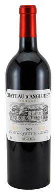 Вино красное сухое «Chateau Angludet» 2011 г.