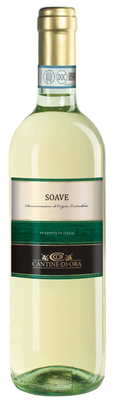 Вино белое сухое «Cantine Di Ora Soave»