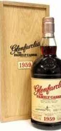 Виски шотландский «Glenfarclas 1959 Family Casks» в деревянной коробке