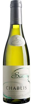 Вино белое сухое «Savary Chablis, 0.75 л» 2013 г.