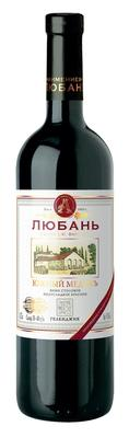 Вино столовое красное полусладкое «Любань Южный Медокъ»