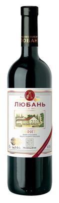 Вино столовое красное полусладкое «Любань Лафитъ»