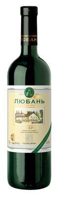 Вино столовое белое полусладкое «Любань Сотернъ»