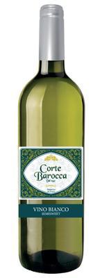 Вино столовое белое полусладкое «Corte Barocca»