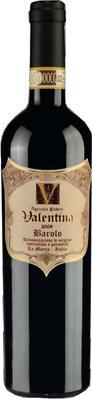 Вино красное сухое «Valentina Barolo» вино защищенного наименования места происхождения, категории ДОКГ, региона Пьемонт