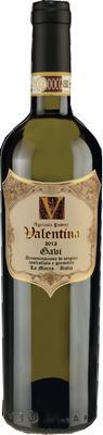 Вино белое сухое «Valentina Gavi» вино защищенного наименования места происхождения