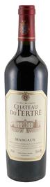 Вино красное сухое «Chateau du Tertre Grand Cru Classe» 2009 г.