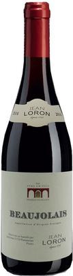 Вино красное сухое «Beaujolais» вино защищенного наименования места происхождения, категории АОП, региона Божоле