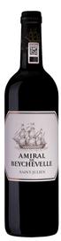 Вино красное сухое  «Amiral De Beychevelle» 2013 г.