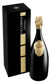 Шампанское белое экстра брют «Celebris Vintage Extra Brut» 2002 г. подарочный набор