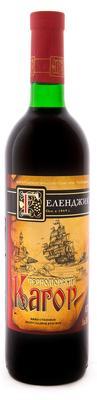 Вино столовое красное полусладкое «Кагор Черноморский»